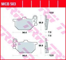 Bremsbelag MCB503