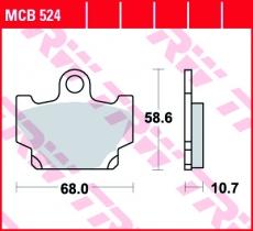 Bremsbelag MCB524