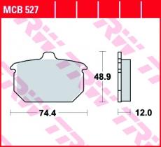 Bremsbelag MCB527