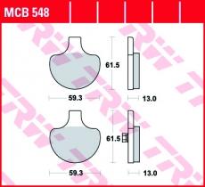 Bremsbelag MCB548