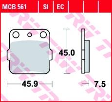Bremsbelag MCB561