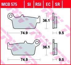Bremsbelag MCB575