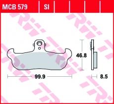 Bremsbelag MCB579
