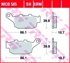 Bremsbelag MCB585