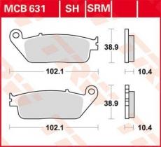Bremsbelag MCB631SRM