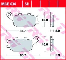 Bremsbelag MCB634