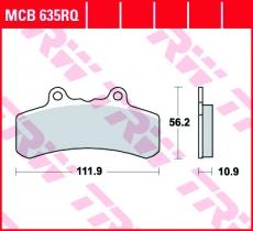 Bremsbelag MCB635RQ