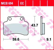 Bremsbelag MCB694