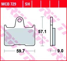 Bremsbelag MCB729