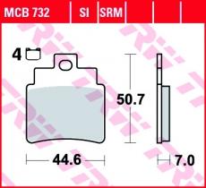 Bremsbelag MCB732