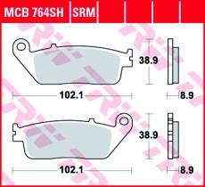 Bremsbelag MCB764SH