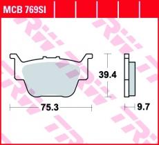 Bremsbelag MCB769SI