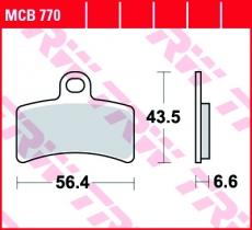 Bremsbelag MCB770