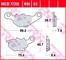 Bremsbelag MCB772SI