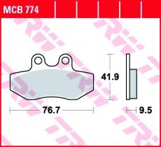 Bremsbelag MCB774