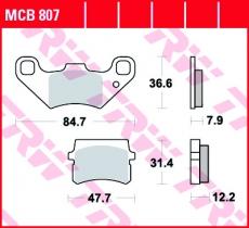 Bremsbelag MCB807
