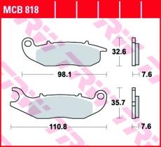 Bremsbelag MCB818