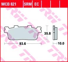 Bremsbelag MCB821