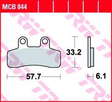 Bremsbelag MCB844