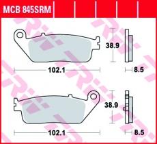 Bremsbelag MCB845SRM