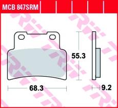 Bremsbelag MCB847SRM
