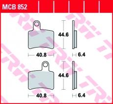 Bremsbelag MCB852