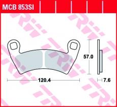 Bremsbelag MCB853SI