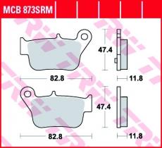 Bremsbelag MCB873SRM