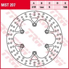 Bremsscheibe MST207