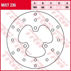 Bremsscheibe MST236