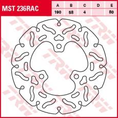 Bremsscheibe MST236RAC