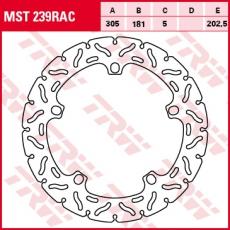 Bremsscheibe MST239RAC