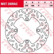 Bremsscheibe MST240RAC