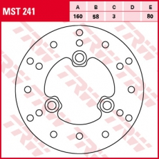 Bremsscheibe MST241