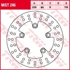 Bremsscheibe MST246