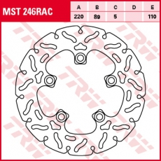 Bremsscheibe MST246RAC