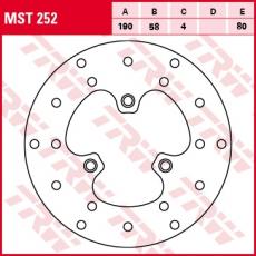 Bremsscheibe MST252