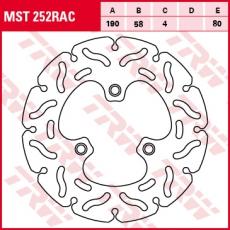Bremsscheibe MST252RAC