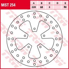 Bremsscheibe MST254