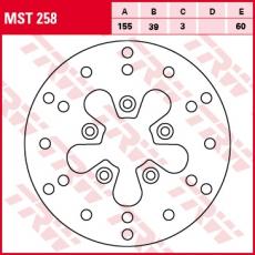Bremsscheibe MST258
