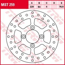 Bremsscheibe MST259