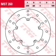 Bremsscheibe MST260