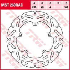 Bremsscheibe MST260RAC