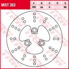 Bremsscheibe MST263