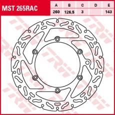 Bremsscheibe MST265RAC