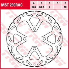 Bremsscheibe MST269RAC