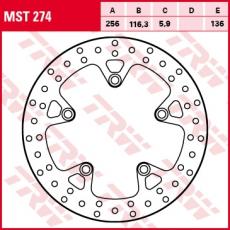 Bremsscheibe MST274
