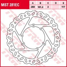 Bremsscheibe MST281EC