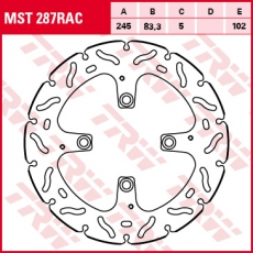 Bremsscheibe MST287RAC