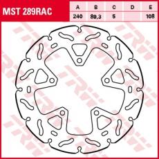 Bremsscheibe MST289RAC